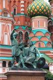 Monument à Minin et à Pozharsky Image stock