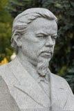 Monument à A S Popov, inventeur de radio Image stock