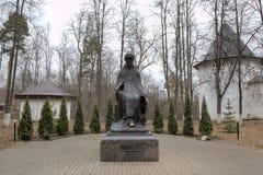 Monument à Savva Storozhevsky Monastère de Savvino-Storozhevsky Zvenigorod photographie stock
