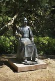 Monument à Sun Yat-sen en parc d'université Hon Kong La Chine Images libres de droits
