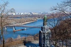 Monument à Vladimir Kiev photographie stock libre de droits