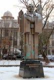 Monument à Yurij Fedkovych dans Chernivtsi, Ukraine Photos libres de droits