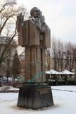 Monument à Yuriy Fedkovych dans Chernivtsi, Ukraine Photo stock