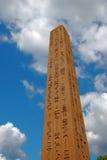 Monument égyptien Photographie stock