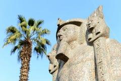Monument égyptien Image libre de droits