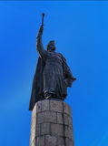 Monument aan Bohdan Khmelnitsky Stock Fotografie