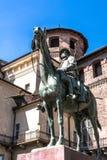 Monument aan Cavalieri-d'Italia in Turijn, Italië Stock Afbeelding