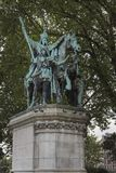 Monument aan Charlemagne royalty-vrije stock foto