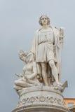 Monument aan Christopher Columbus in Genua Royalty-vrije Stock Afbeelding