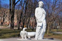 Monument aan Dante Alighieri royalty-vrije stock afbeelding