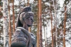 Monument aan de Heilige Martelaarkeizerin Alexandra Feodorovna royalty-vrije stock fotografie