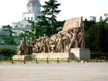 Het Vierkante Monument Tiananmen van Peking, China â Royalty-vrije Stock Afbeeldingen
