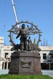 Monument aan de kolonisten stock fotografie
