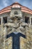 Monument aan de Mexicaanse Revolutie royalty-vrije stock fotografie
