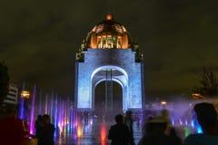Monument aan de Mexicaanse Revolutie stock fotografie