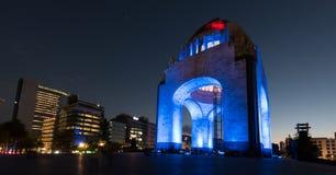 Monument aan de Mexicaanse Revolutie stock foto