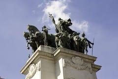 Monument aan de Onafhankelijkheid van Brazilië stock afbeelding