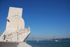 Monument aan de Ontdekkingen Royalty-vrije Stock Foto
