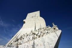 Monument aan de Ontdekkingen in Lissabon Stock Foto