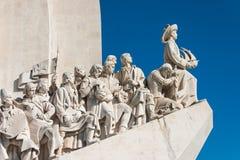Monument aan de Ontdekkingen - Lissabon Stock Afbeelding
