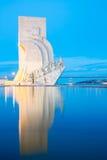 Monument aan de Ontdekkingen Lissabon Stock Foto