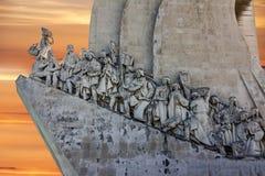 Monument aan de Ontdekkingen, Lissabon, Portugal Stock Fotografie