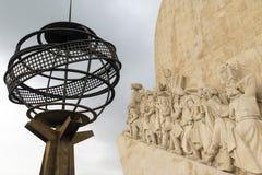 Monument aan de ontdekkingen 52 meter lang, herdenkt dit monument vijf de honderdste stock afbeelding