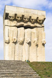 Monument aan de Slachtoffers van Fascisme in Krakau royalty-vrije stock foto