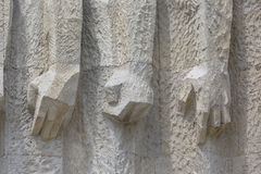 Monument aan de Slachtoffers van Fascisme Plaszow in Krakau, Polen stock fotografie