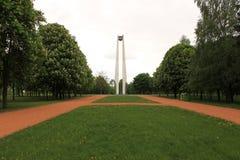 Monument aan de 950ste verjaardag van Grodno Royalty-vrije Stock Afbeelding