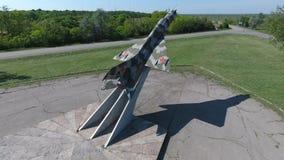 Monument aan de vechtersvliegtuigen stock foto