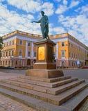 Monument aan Duke DE Richelieu in Odessa Royalty-vrije Stock Afbeeldingen