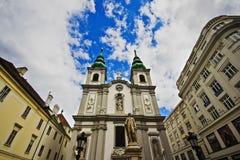 Monument aan Franz Joseph Haydn in Wenen Royalty-vrije Stock Foto's