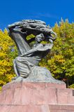 Monument aan Frederic Chopin Royalty-vrije Stock Afbeelding