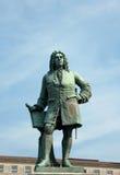 Monument aan George Frideric Handel, Halle (Saale), Duitsland Stock Foto's