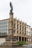 Monument aan gevallen in Afrika, Ferrol, Galicië, Spanje Royalty-vrije Stock Foto's