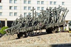 Monument aan Gevallen en Moord in het Oosten royalty-vrije stock foto