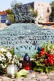 Monument aan Gevallen en Moord in het Oosten stock afbeelding