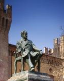 Monument aan Giuseppe Verdi stock afbeelding