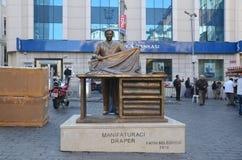 Monument aan Handelaar in stoffen of Vaklieden in Istanboel Royalty-vrije Stock Afbeelding