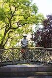 Monument aan Imre Nagy, Eerste minister in Boedapest, Hongarije Royalty-vrije Stock Afbeelding