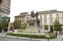 Monument aan Isabel Katholiek stock fotografie
