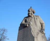 Monument aan Karl Marx Stock Afbeeldingen