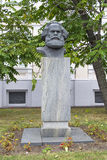 Monument aan Karl Marx Stock Foto