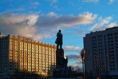 Monument aan Lenin in Moskou Royalty-vrije Stock Foto