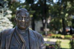 Monument aan Leonid Utiosov Odessa Ukraine Stock Foto