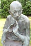 Monument aan Mahatma Gandhi Stock Afbeelding