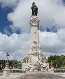 Monument aan Marquis de Pombal in Lissabon, Portugal royalty-vrije stock foto