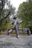 Monument aan Maxim Gorky stock foto's