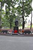 Monument aan omgekomen van Wereldoorlog II in Wit-Rusland Stock Foto